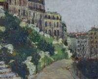 Square Saint-Pierre à Montmartre