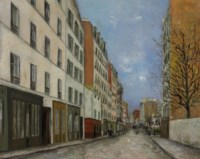 La rue Marcadet à Montmartre