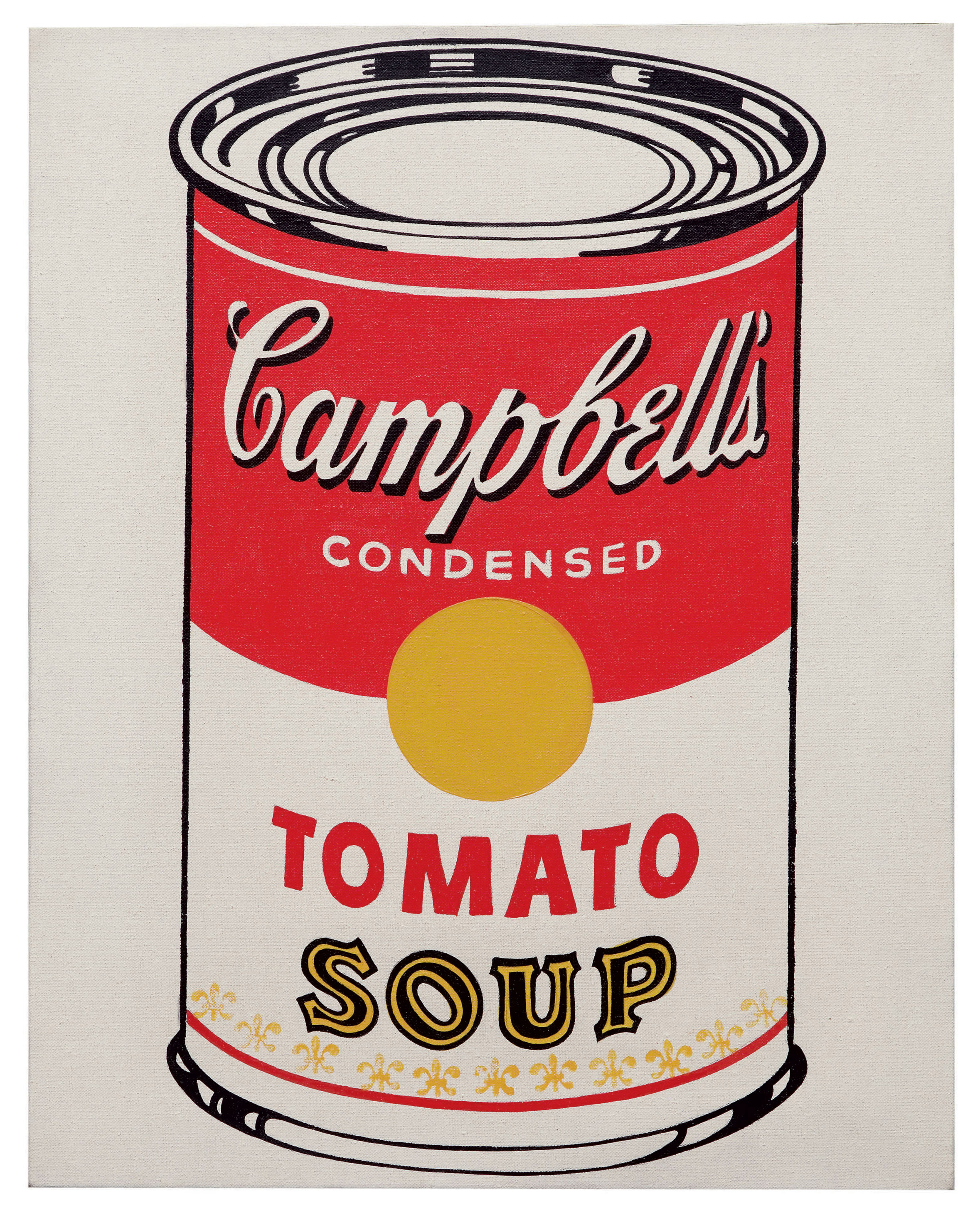 Image result for the campbell soup andy warhol