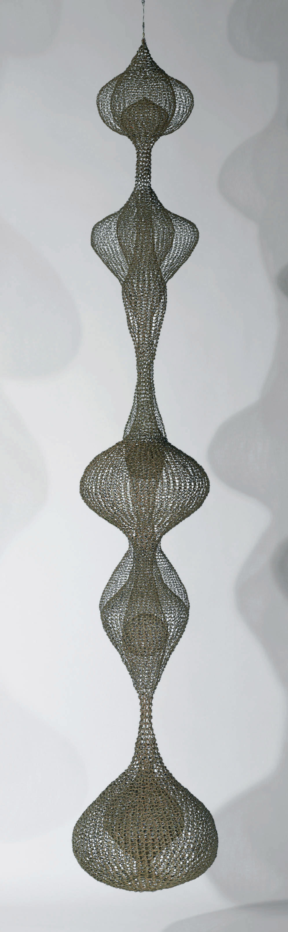 Untitled (Hanging Six-Lobed, Multi-Layered Continuous Form within a Form)
