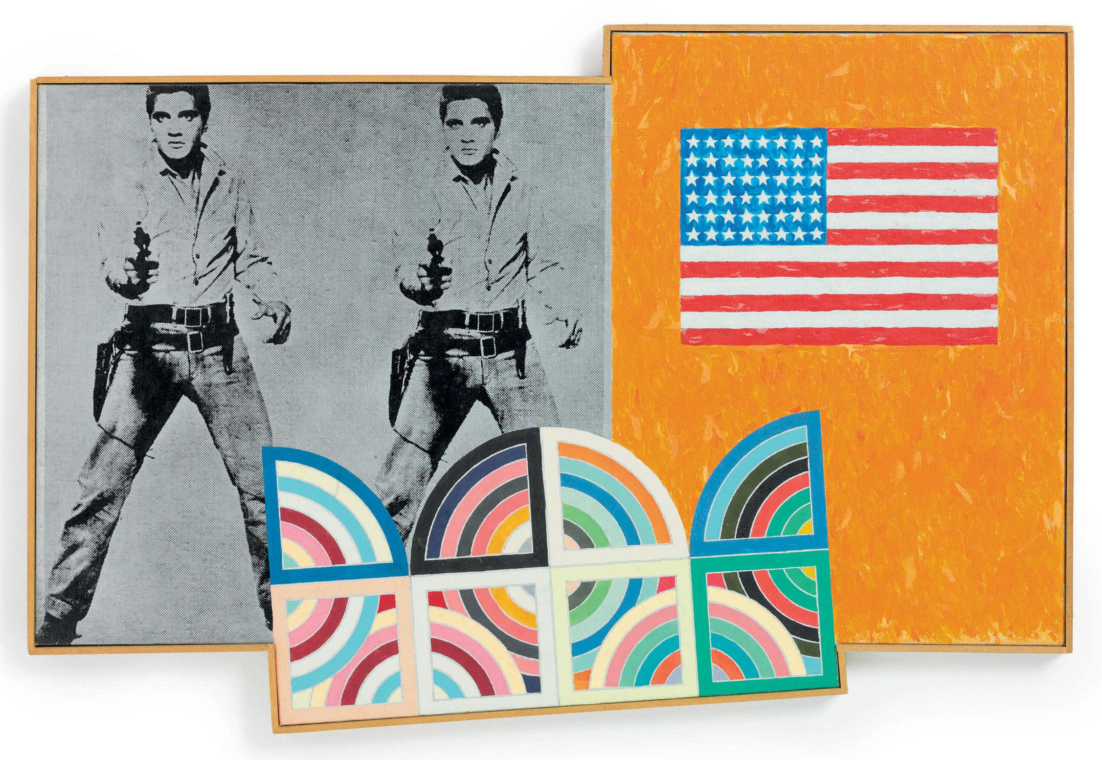 Flag on Orange Field, Elvis and Tahkt 8
