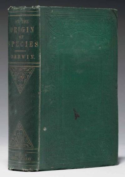 DARWIN, Charles. On the Origin