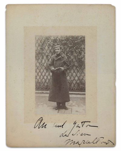 PROUST, Marcel (1871-1922). Po