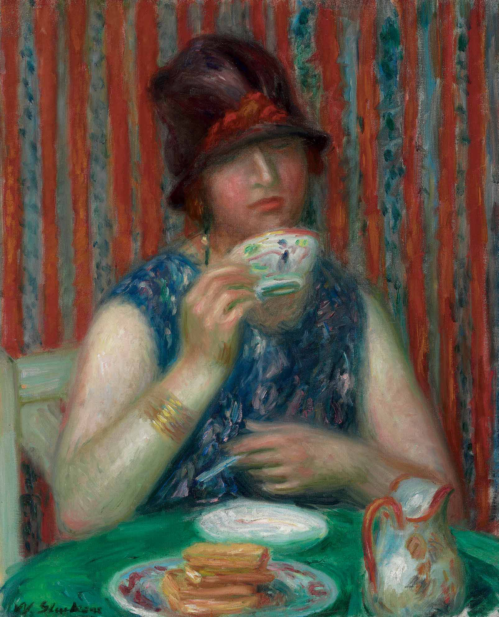 Girl with Teacup