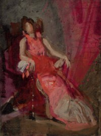 """Study for """"The Actress"""""""