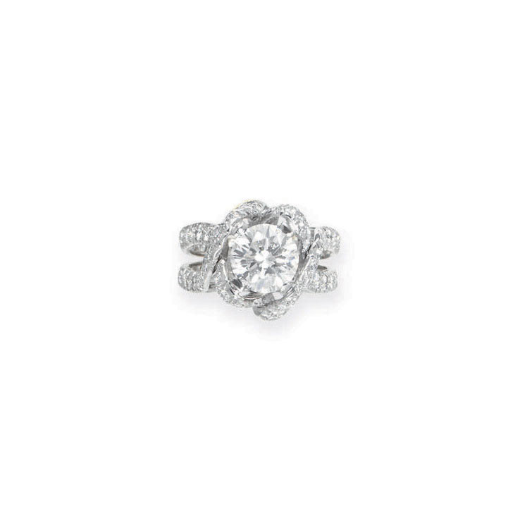 8ba372c2f A DIAMOND RING, BY JEAN SCHLUMBERGER, TIFFANY & CO.   Christie's