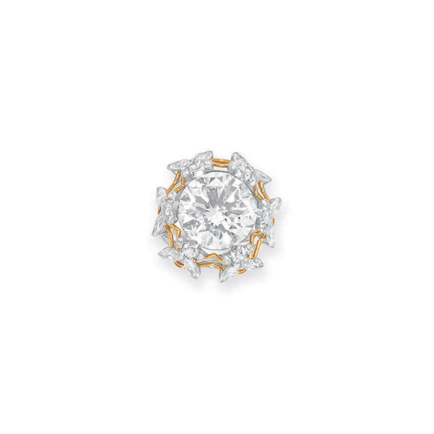 """A DIAMOND """"BEE"""" RING, BY JEAN SCHLUMBERGER, TIFFANY & CO."""