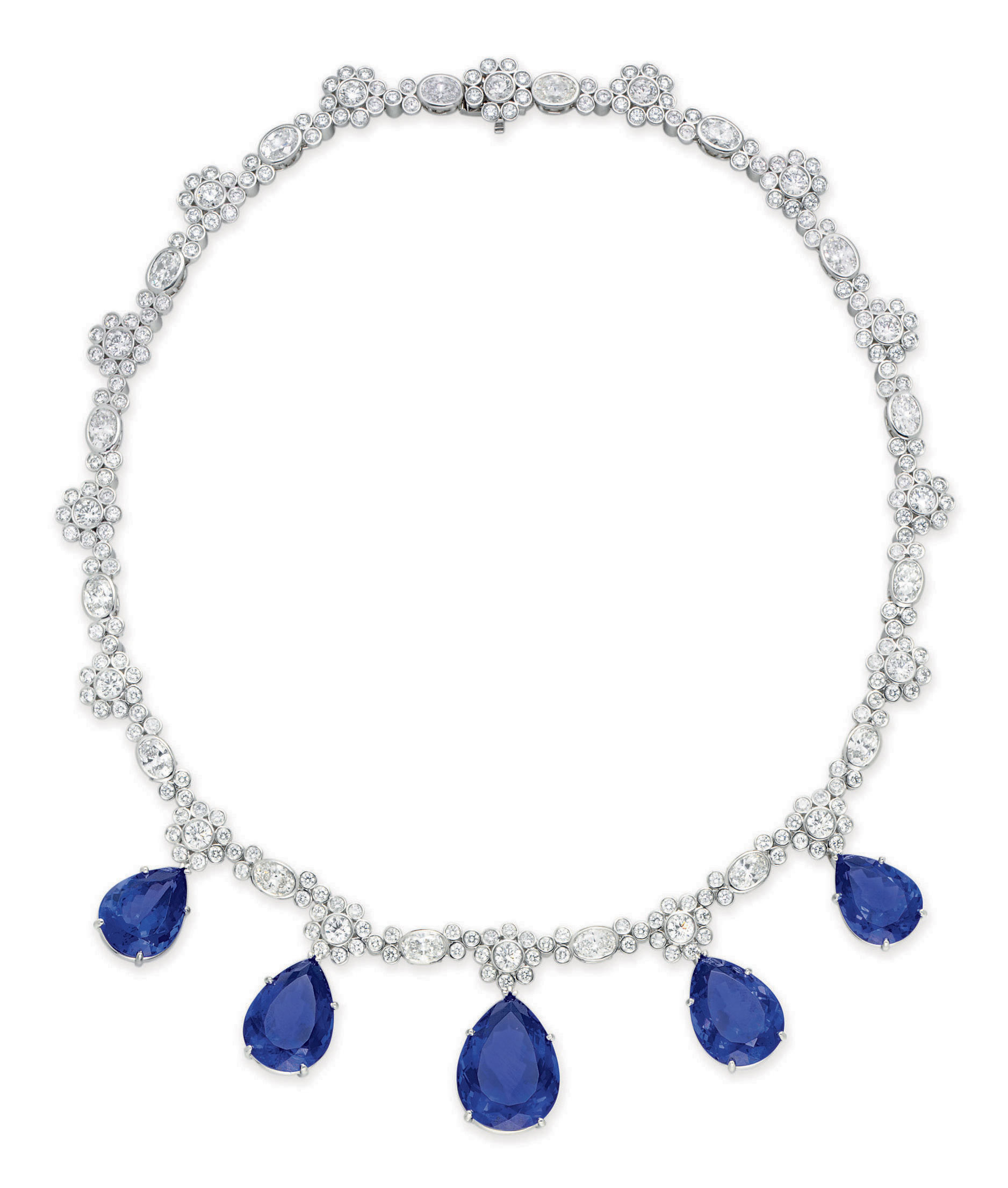 opulent stunning ashton product with david tanzanite pearls southsea pearl spaced img necklace beautiful