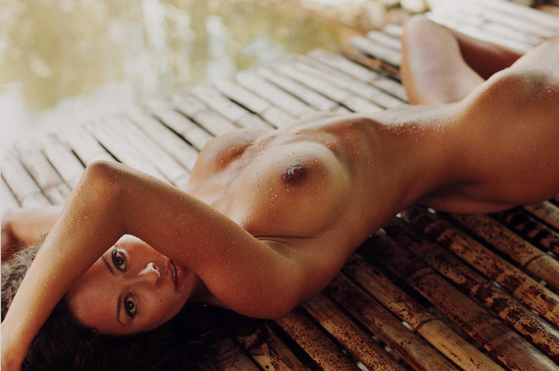 Brooke Burke, May 2001