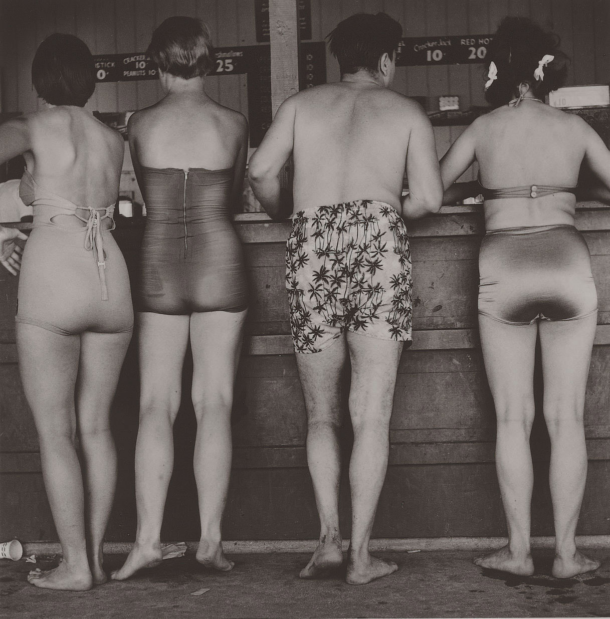North Avenue Beach, Chicago, c. 1952