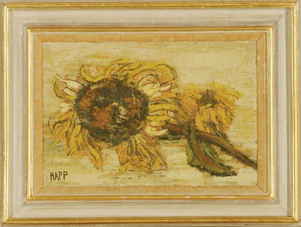 Still life of a sunflower