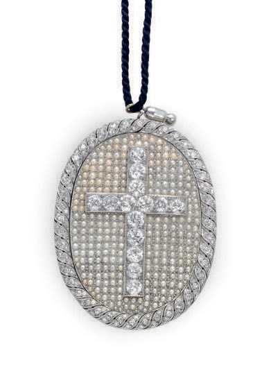 A DIAMOND, SEED PEARL, GOLD AN