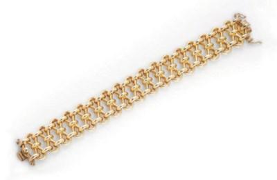 AN 18K GOLD BRACELET, BY PALOM