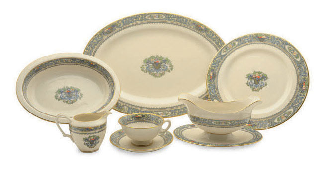 AN AMERICAN PORCELAIN PART SERVICE,