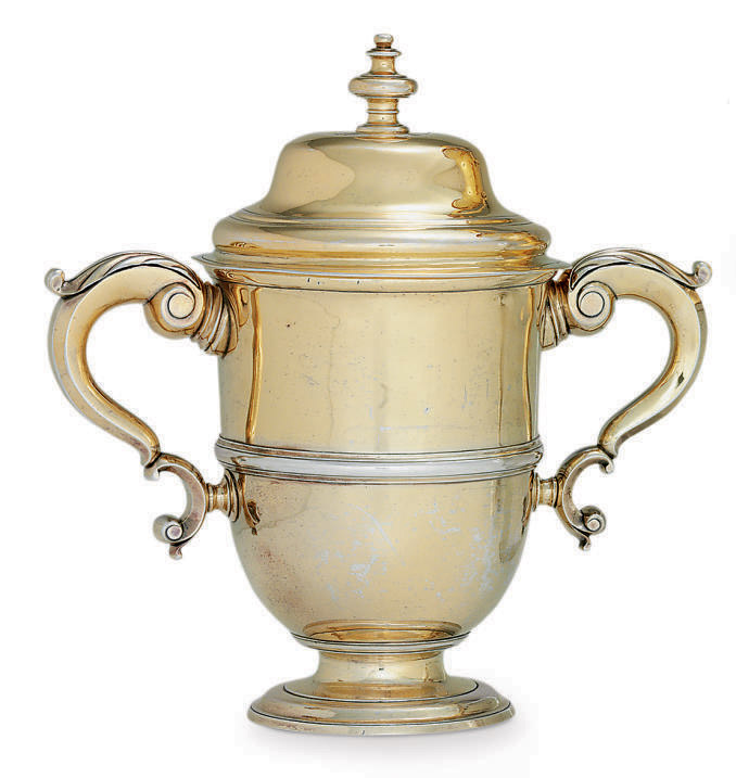 THE ASTOR CUP: A GEORGE I SILVER-GILT YACHTING TROPHY