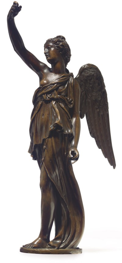 A BRONZE FIGURE OF FAME OR WIN