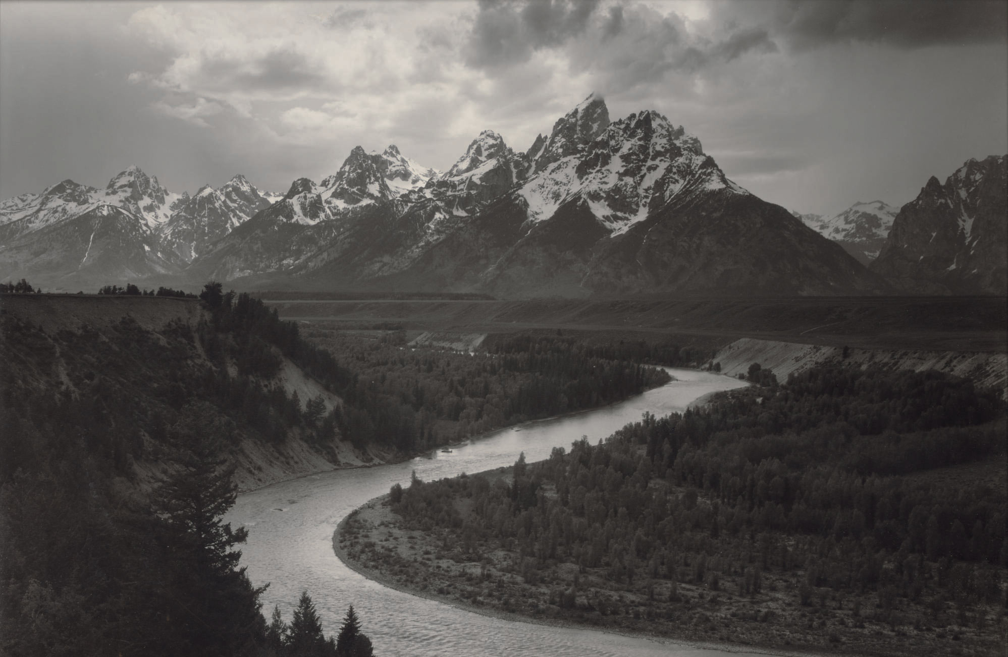 Grand Tetons and the Snake River, Grand Teton National Park, Wyoming, 1942