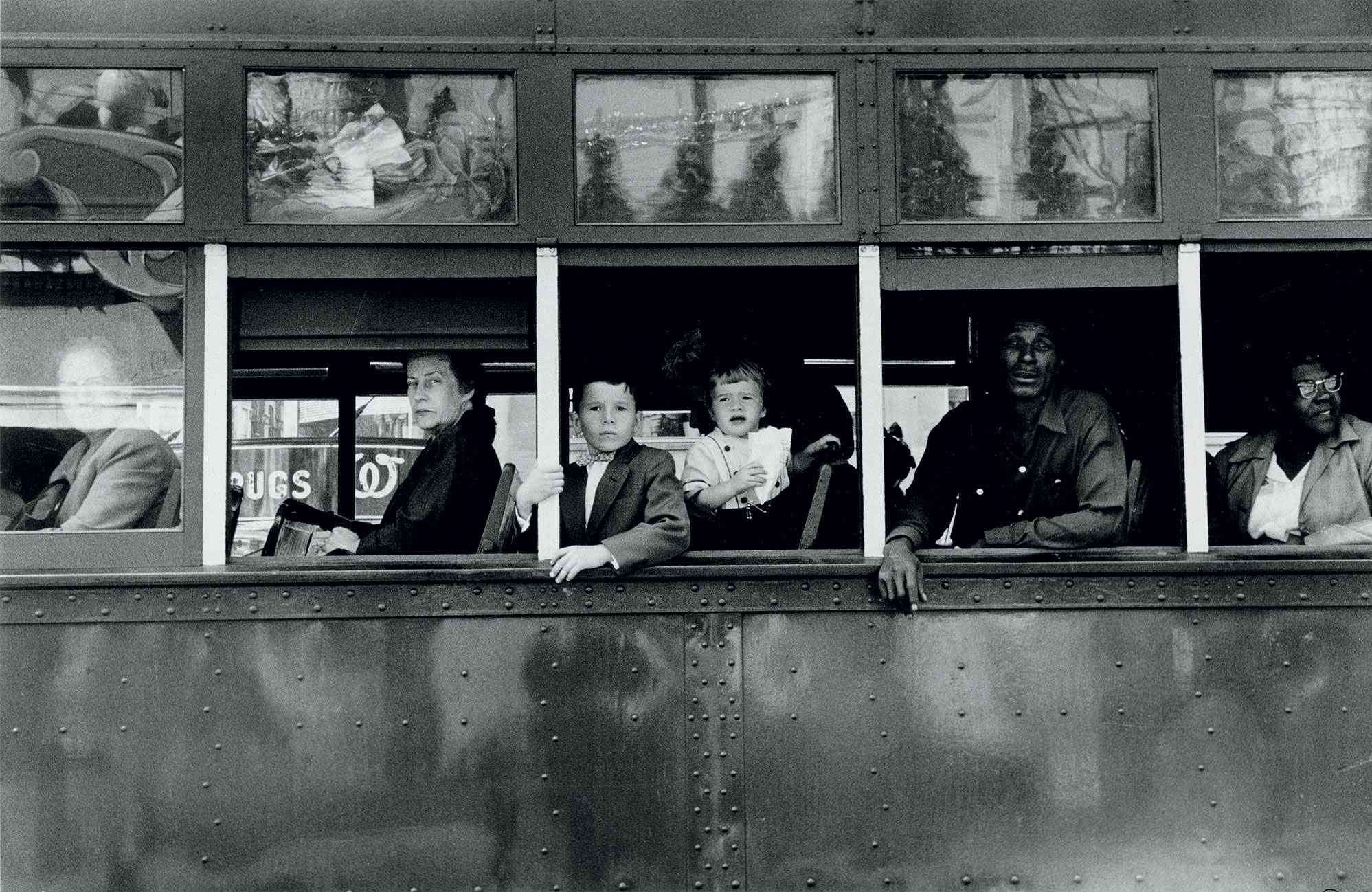 Trolley -- New Orleans, 1955