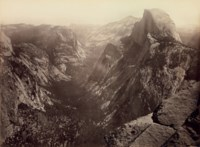 Half-Dome, from Glacier Point, Yosemite, 1865-66