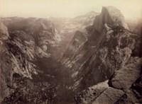 Half-Dome, from Glacier Point, Yosemite, 1865-66