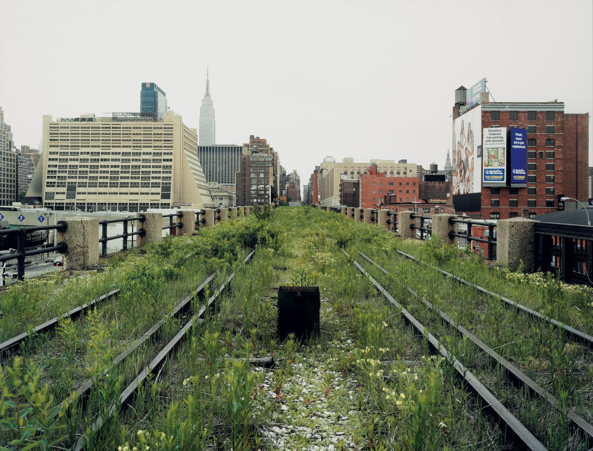 A Railroad Artifact, 30th Street, May 2000