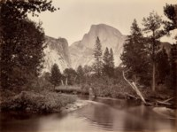 Tacoye, The Half-Dome, 5500 feet, Yosemite, 1865-66