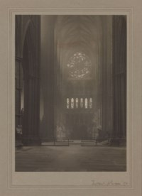 Westminster Abbey: Across the Transepts, 1911