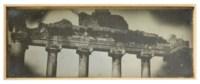 15. Rome 1842. T[emple] de la Concorde. Ent[rée] Intér[ieure]