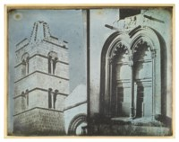 82. Fenêtre, clocher, Cornéto, [1842]