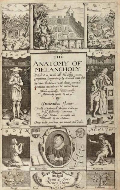 BURTON, Richard (1577-1640). T