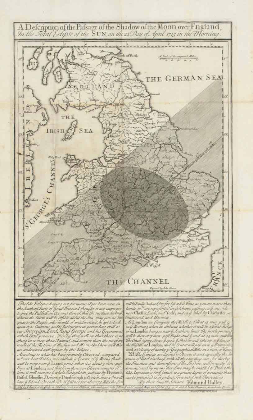 HALLEY Edmund 1656 1742 A Description Of The Passage