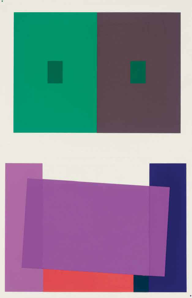 Albers Josef Interaction Of Color New Haven And London Yale University Press 1963