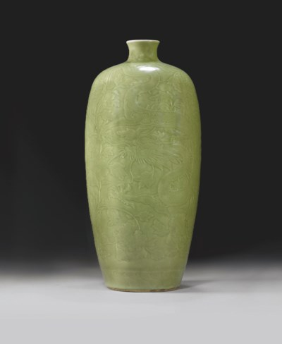 IMPORTANT VASE MEIPING IMPERIA