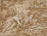 Thisbé retrouve le corps mort de Pyrame