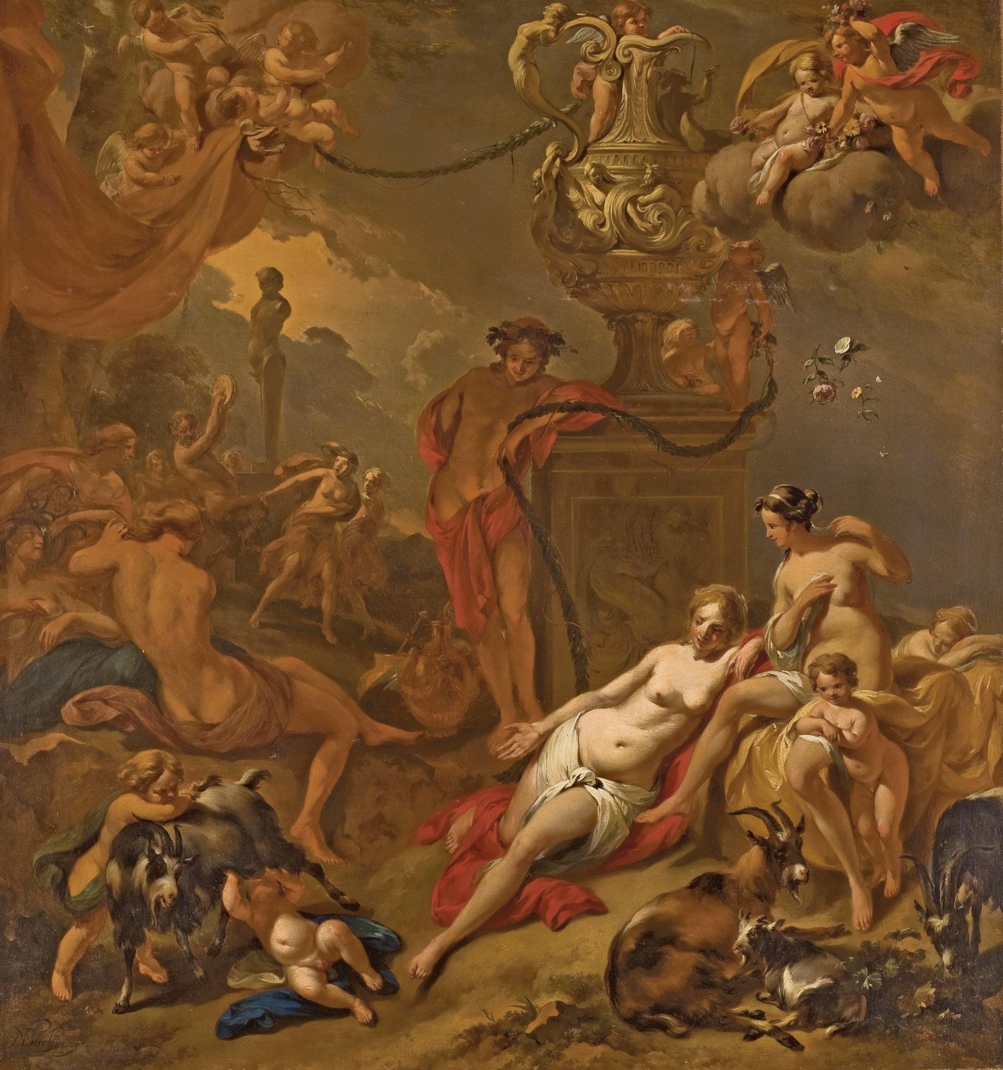 NICOLAES BERCHEM (HAARLEM 1620