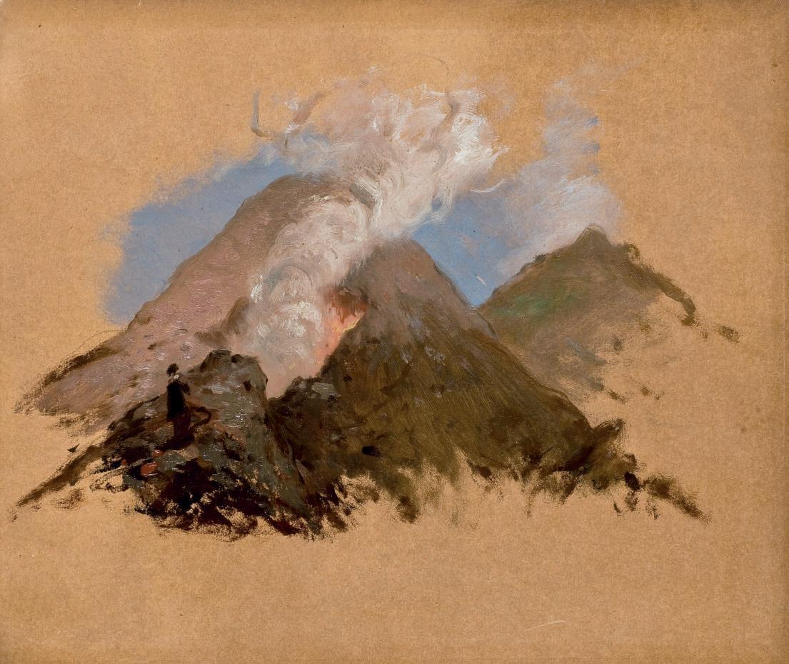Etude de volcan