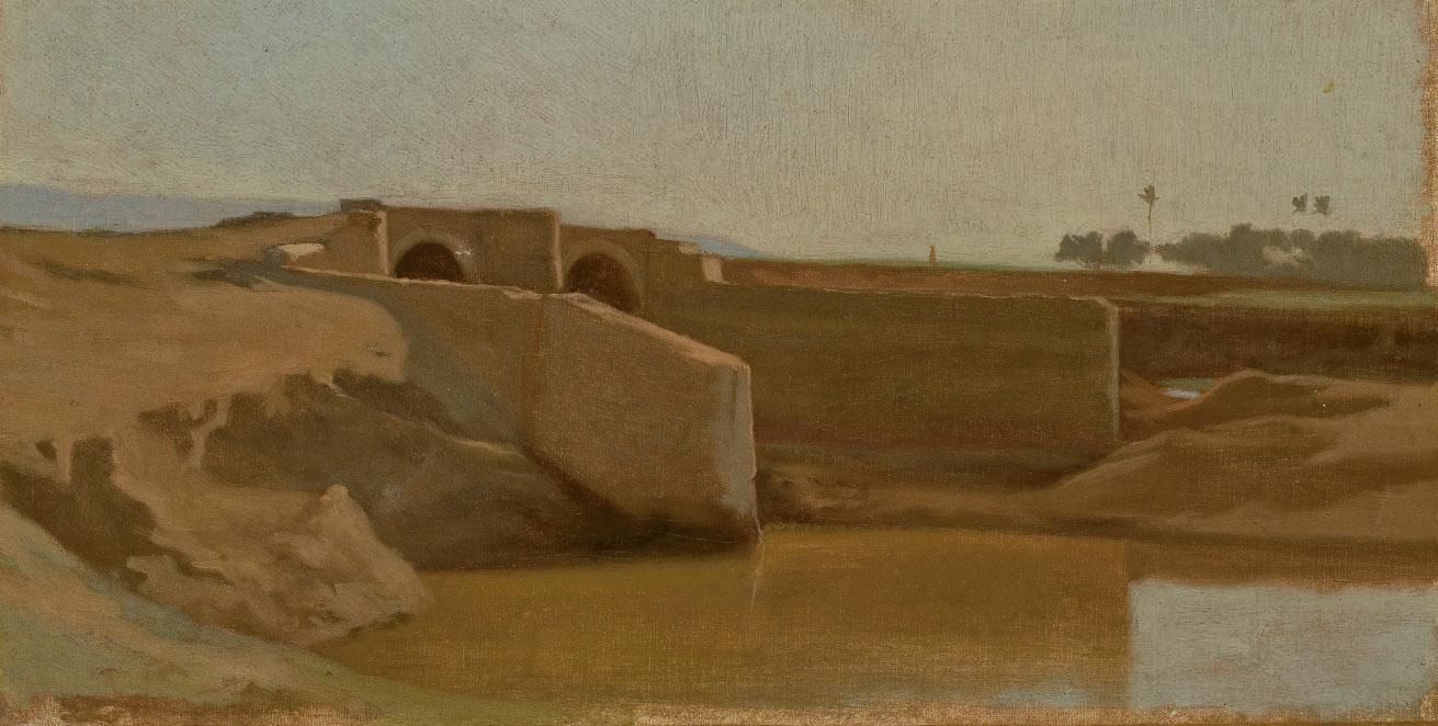 Pont dans un paysage