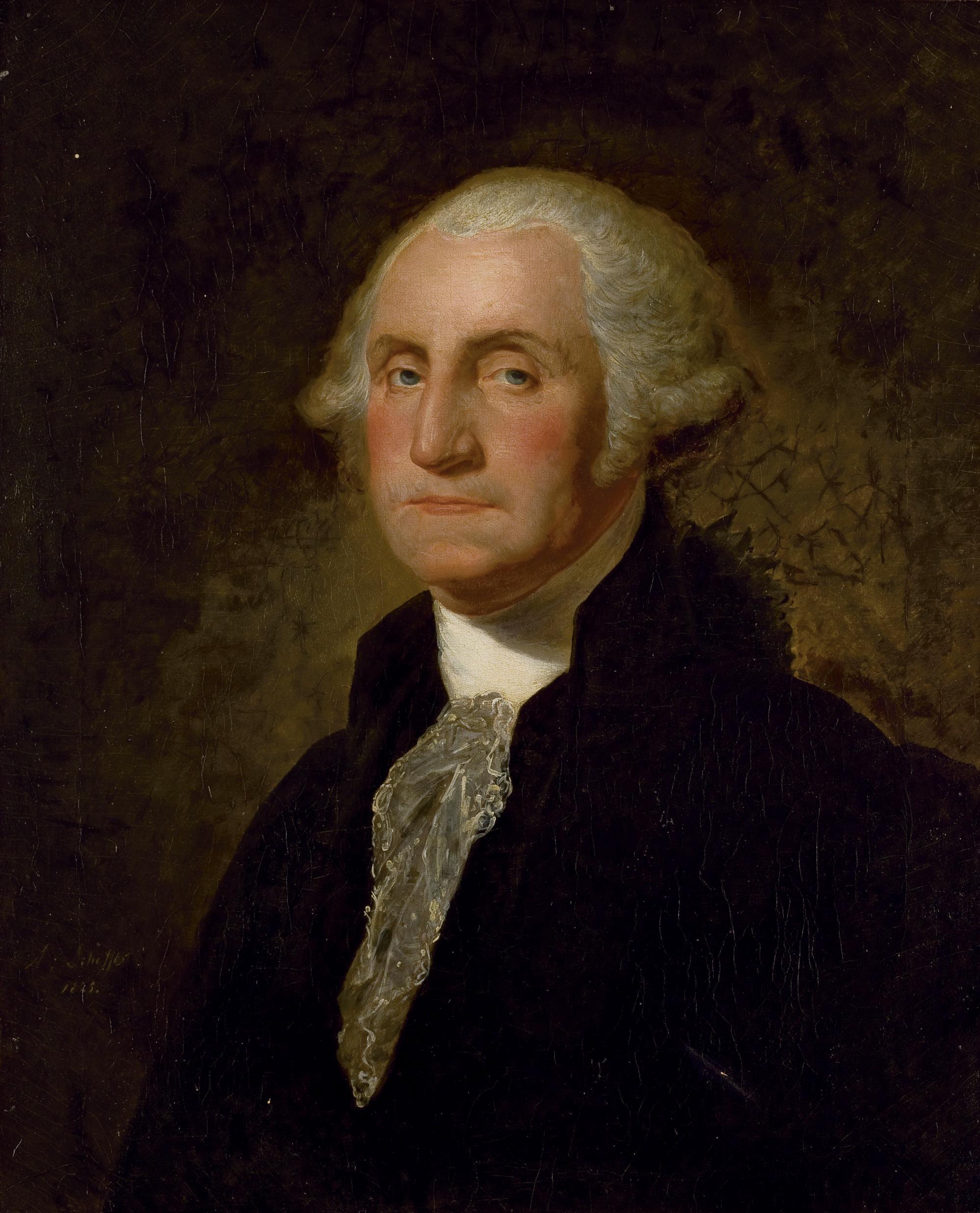 Portrait de George Washington, d'après Gilbert Stuart