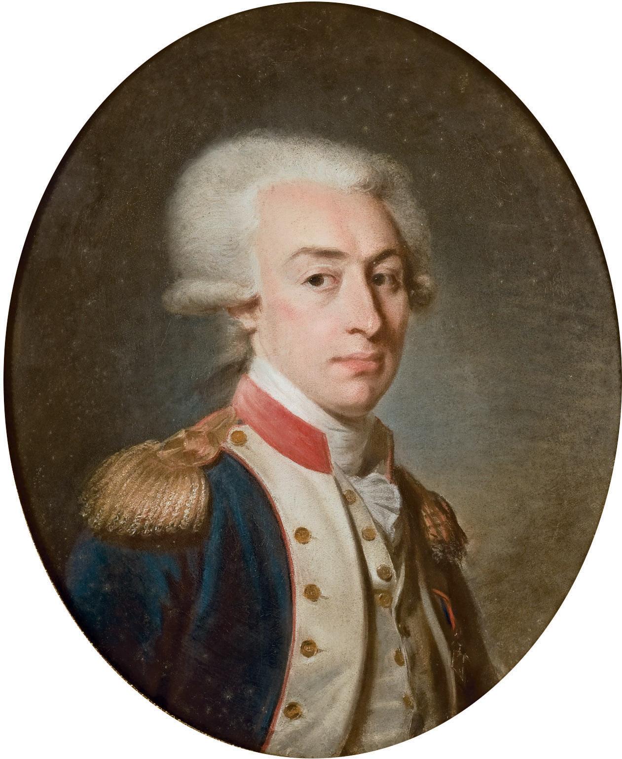 Portrait du marquis de La Fayette