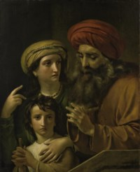 Agar et Ismaël chassés par Abraham