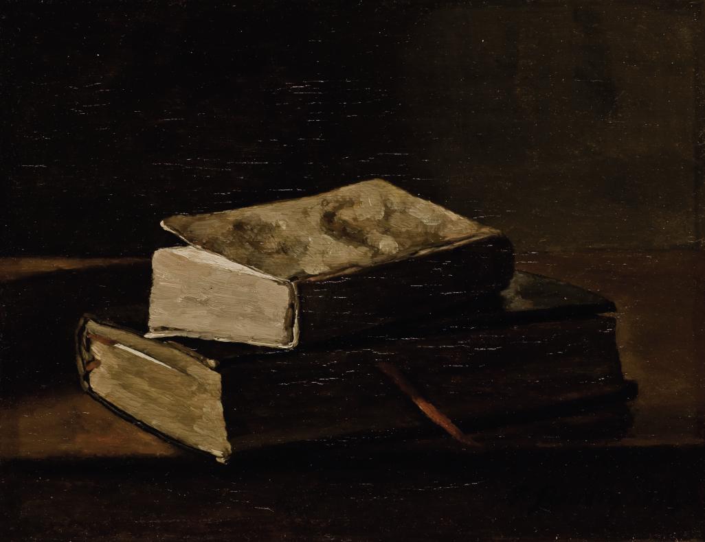 Nature morte aux deux livres