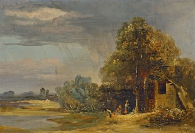 PAUL HUET (PARIS 1803-1869)