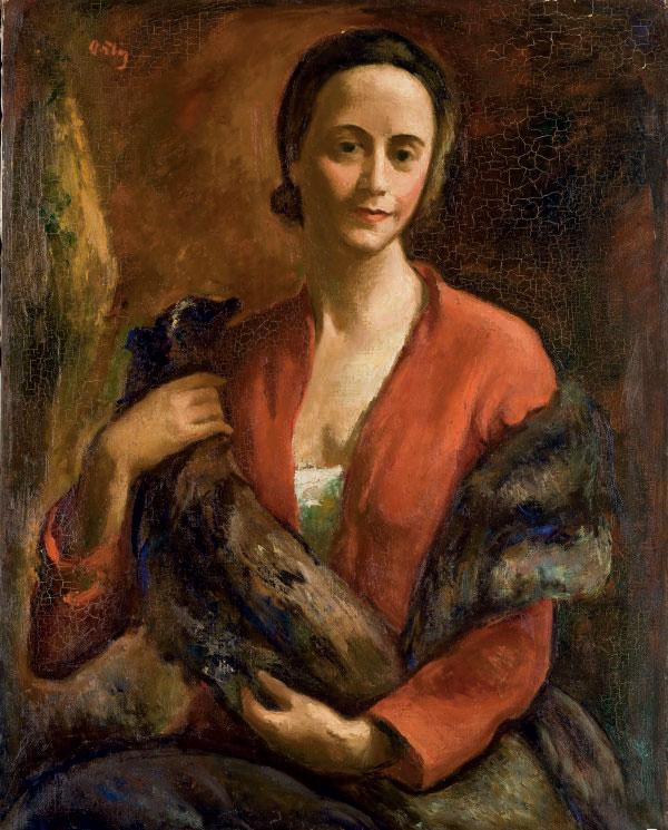 Portrait de femme (et cinq autres oeuvres)