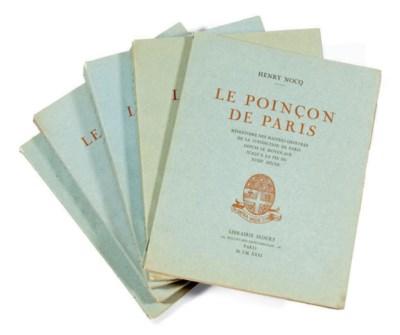 NOCQ, HENRY. LE POINCON DE PAR