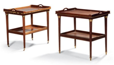 DEUX TABLES A THE FORMANT PAIR