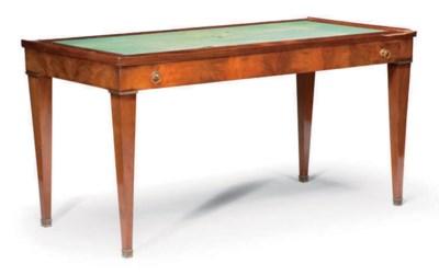 TABLE TRIC-TRAC D'EPOQUE EMPIR
