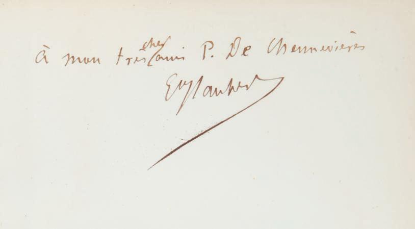 FLAUBERT, Gustave (1821-1880). L'Éducation sentimentale. Histoire d'un jeune homme. Paris: J. Clavé pour Michel Lévy frères, 1870.