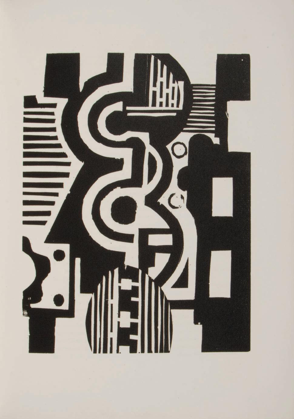 [LÉGER] -- MALRAUX, André (1901-1976). Lunes en papier. Orné de gravures sur bois par Fernand Léger. Paris : Galerie Simon, 1921.