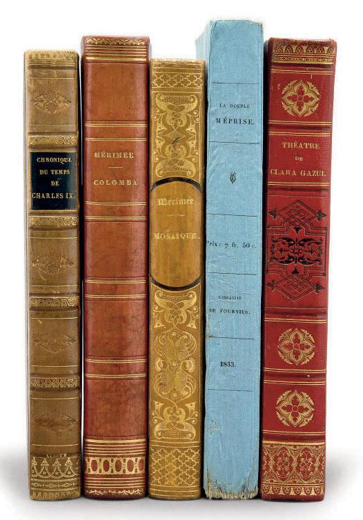 [MÉRIMÉE, Prosper (1803-1870)]. 1572. Chronique du temps de Charles IX. Paris: H. Fournier pour Alexandre Mesnier, 1829.