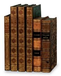 MUSSET, Alfred de (1812-1857). Importante réunion d'ouvrages.